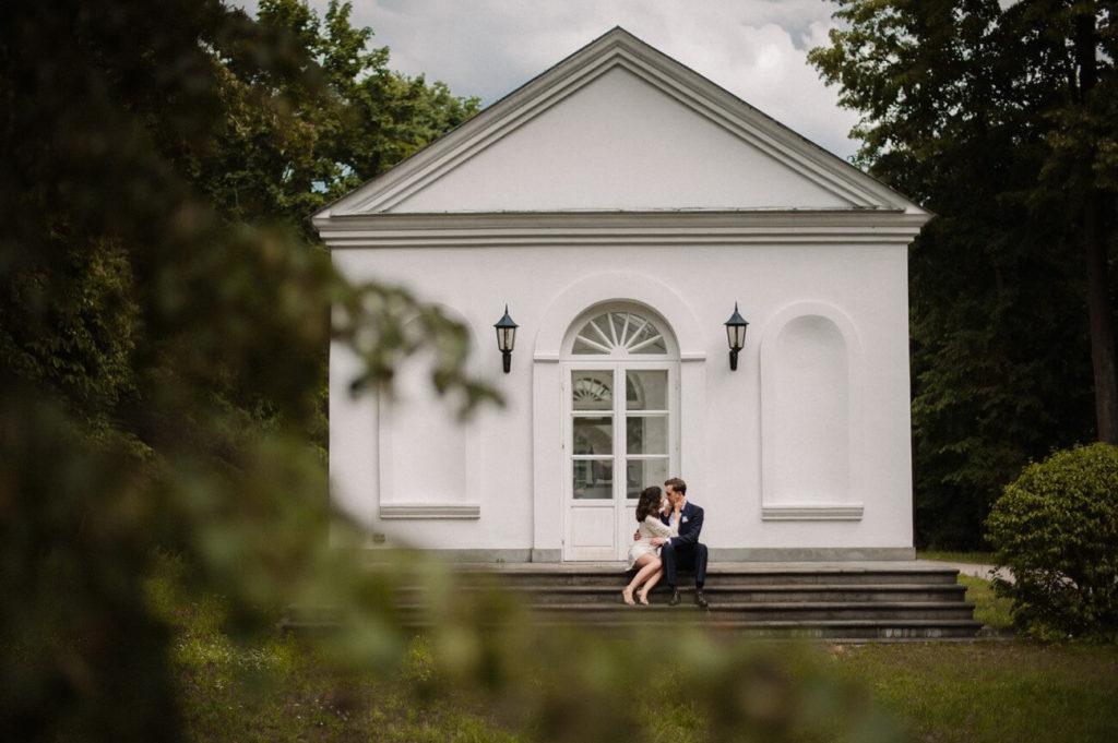 Kasia i Marcin - sesja poślubna. Fotografia ślubna - Maria Pajek