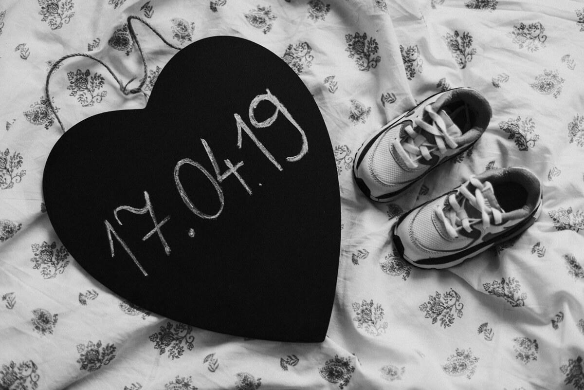 Fotograf rodzinny, ślubny, sesja ciążowa brzuszkowa Justyny, ósmy miesiąc